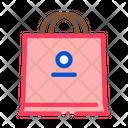Paper Bag Away Icon