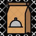 Paper Bag Food Restaurant Icon