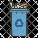 Paper Bin Bin Recycle Icon