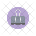 Paper Binder File Clipper File Holder Icon