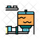 Blow Tank Color Icon