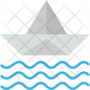 Paper Ship Boat Icon
