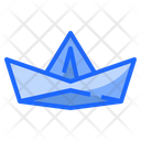 Paper Boat Ship Icon