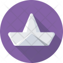 Paper Boat Play Icon