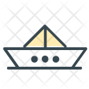 Paper Boat Work Icon