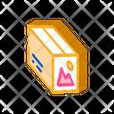 Color Paper Box Icon