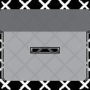 Paper Box Box Storage Icon
