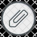 Paper Clip Attachment Pin Paper Pin Icon