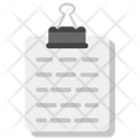 Paper Clipboard Icon