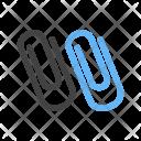 Paper clips Icon