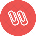 Paper Clips Attach Icon