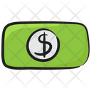 Paper Currency Banknote Dollar Icon