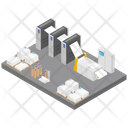 Paper Factory Icon