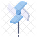 Windmill Paper Summer Icon