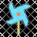 Ipaper Fan Paper Fan Windmill Icon