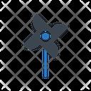 Paperfan Windmill Carnival Icon