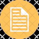 Paper File Icon