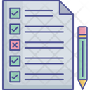 Paper For Work List Icon