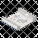 Map Navigation Location Location Pointer Icon