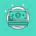Banknotes Currency Money Icon