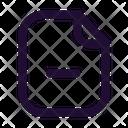 Paper Negative Icon