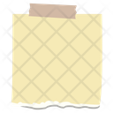 Sticky Note Note Design Writing Note Icon