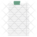 Paper Note Note Design Writing Note Icon
