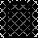 Paper pad Icon