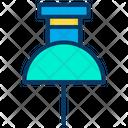 Paper Pin Icon