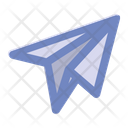 Paper Flight Fly Icon