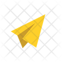 Paper Plane Connection Network Icon