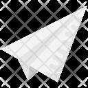 Plane Paper Origami Icon