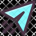 Internet Technology Paper Plane Send Icon