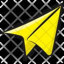 Paper Plane Origami Paper Airplane Icon