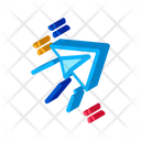 Paper Airplane Message Icon