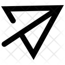 Message Symbol Paper Airplane Icon