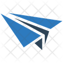 Paper Plane Airoplane Navigation Icon