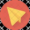 Paper Plane Aeroplane Icon