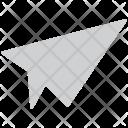 Paper Plane Jet Icon