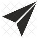 Paper Plane Fly Icon