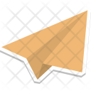 Paper Plane Airplane Icon