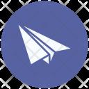 Paper Plane Document Icon