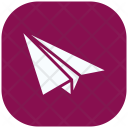 Paper Plane Object Icon