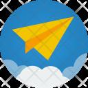 Paper Plane Startup Icon