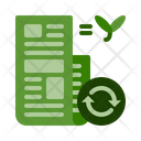 Paper recycle Icon