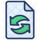Paper Recycling Paper Trash Paper Waste Icon