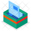 Paper Recycling Icon