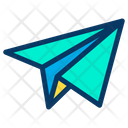 Paper Rocket Icon