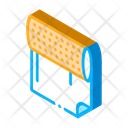 Paper Roll Tattoo Icon