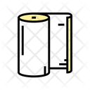 Paper Roll Color Icon